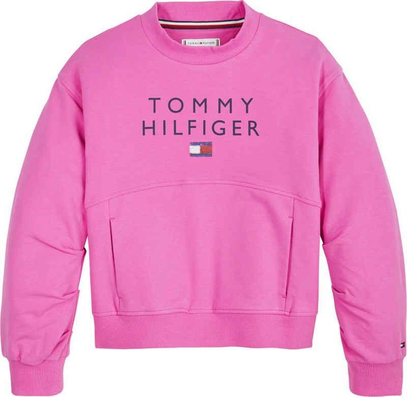 Tommy Hilfiger Sweatshirt »PLEATED SLEEVE SWEATSHIRT«