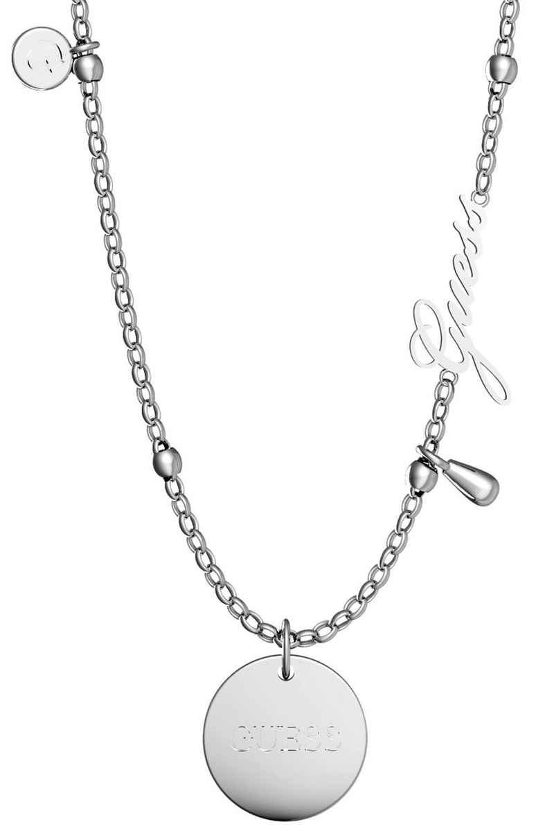 Guess Collier »Peony Art Charm Edelstahl«