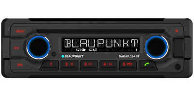 Blaupunkt Audio-System (BLAUPUNKT Dakar 224 BT - 24Volt 24 V, Bluetooth, CD, MP3, USB Autoradio für LKW usw)