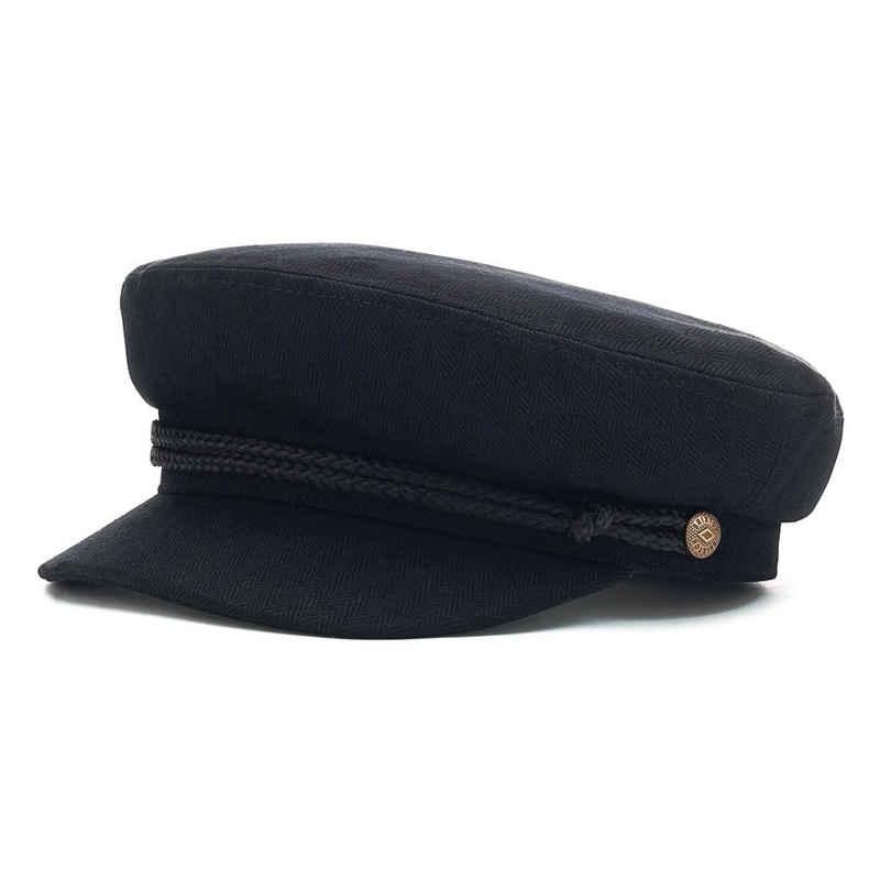 Brixton Schiebermütze »Fiddler Cap - black«
