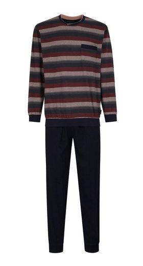 GÖTZBURG Pyjama Bügelfrei Klima Aktiv