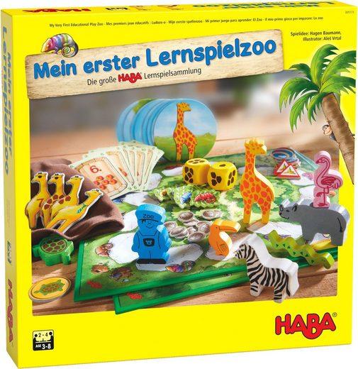 Haba Spielesammlung, Lernspiel »Mein erster Lernspielzoo«, Made in Germany