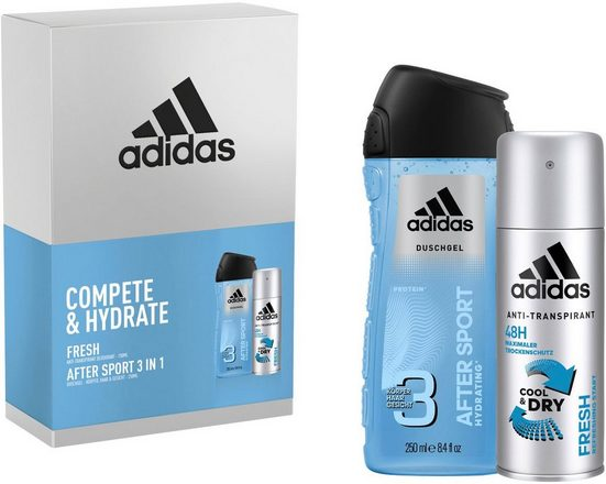 adidas Performance Deo-Set »Compete & Hydrate«, 2-tlg.