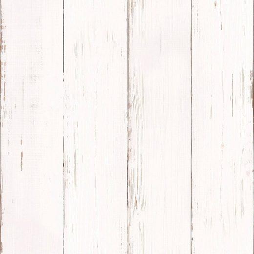 Vliestapete »white wood«