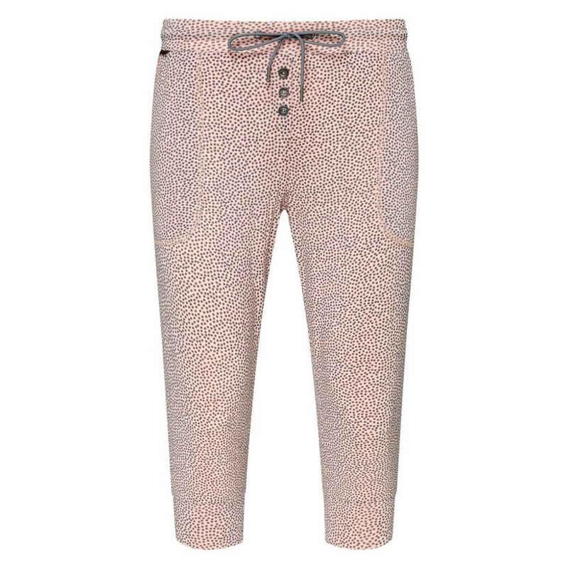 Jockey Schlafhose »Supersoft Lounge« Schlafanzug Capri Hose - Lockere Passform, Seitentaschen, Zierknöpfe vorne