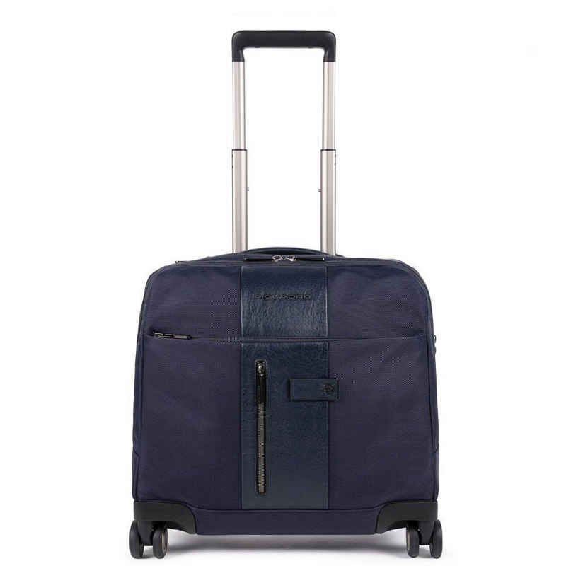 Piquadro Business-Koffer, 4 Rollen Rollen