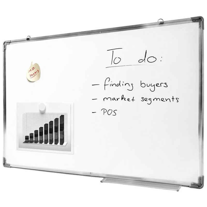 Goods+Gadgets Wandtafel »Whiteboard«, (60 x 90 cm, abwischbares Memoboard), Magnet-Tafel
