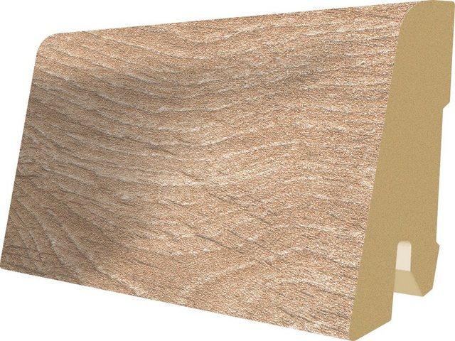 Megafloor Sockelleisten passend zum Laminat Megafloor M1, woodwork eiche
