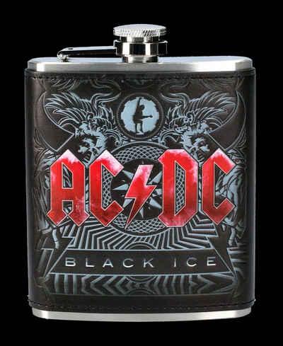 Figuren Shop GmbH Flachmann »AC/DC Flachmann - Black Ice - Merchandise«