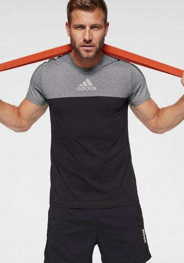 adidas Performance T-Shirt »OSR 3 STRIPES CB TEE«