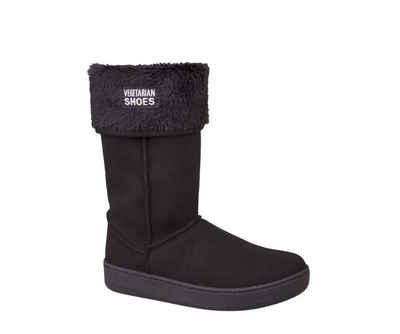 Vegetarian Shoes »Vegetarian Shoes Highly Snugge Boot Black« Schlupfboots Vegan
