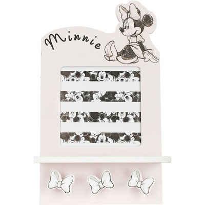 Disney Minnie Mouse Garderobe »Bilderrahmen und Garderobe mit 3 Haken Minnie«