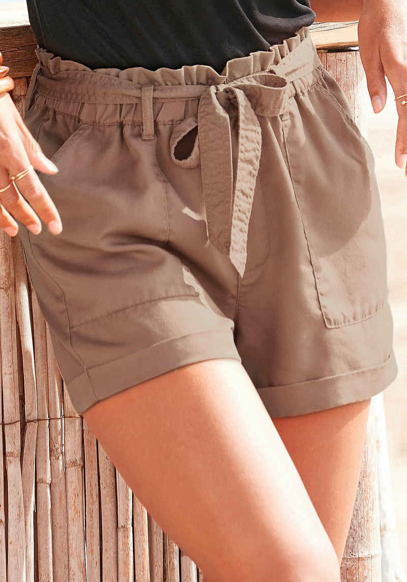 Buffalo Shorts (mit Bindegürtel) im Paperbag-Stil