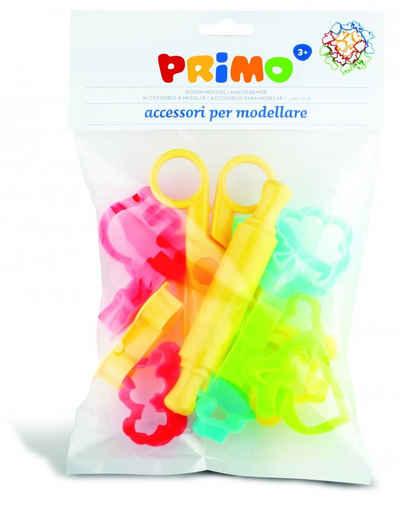 Primo Knetform-Set »Zubehörset Softknete Knete Knetwerkzeug für Kinder - Schere, Stempel und Stanzen«