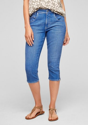 s.Oliver 7/8-Jeans »Slim: Capri aus Jeans«