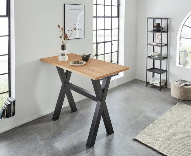 Barmöbel - Bartisch, Gestell in X Form (Breite 120 oder 140 cm)  - Onlineshop OTTO