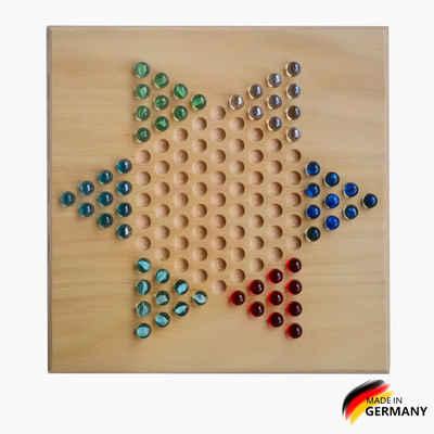 Madera Spielzeuge Spiel, Strategiespiel »Halma xxl Buchenholz 2-6«, Made in Germany
