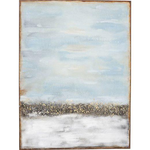 KARE Dekoobjekt »Acrylbild Abstract Horizon 120x90cm«