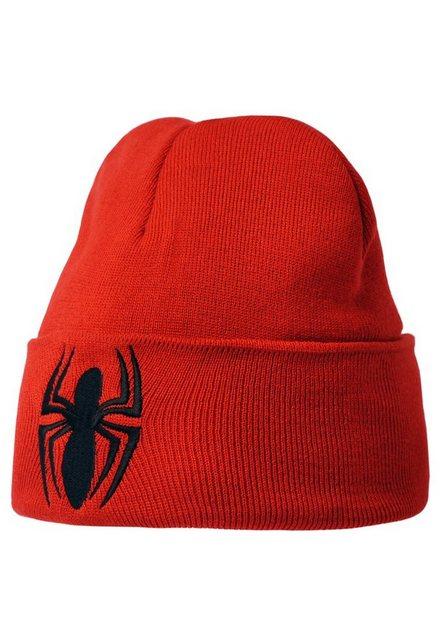 LOGOSHIRT Strickmütze mit Spiderman-Logo | Accessoires > Mützen > Strickmützen | Logoshirt