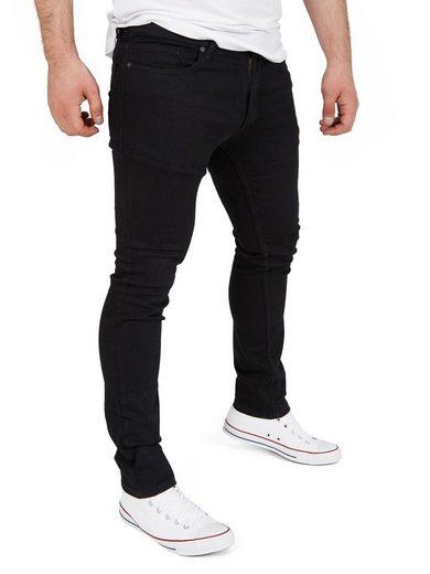 WOTEGA Slim-fit-Jeans »Stretch Jeanshose Justin« Herren Jeans mit Stretchanteil