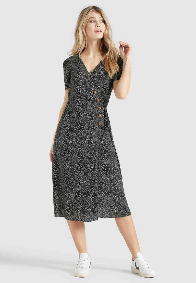 khujo Blusenkleid »PORGY« aus leichter Viskose mit Unterrock