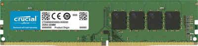 Crucial »8GB DDR4-3200 UDIMM« PC-Arbeitsspeicher