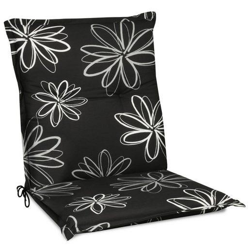 Beautissu Polsterauflage »Flores«, Niederlehner Auflage 100x50x6cm