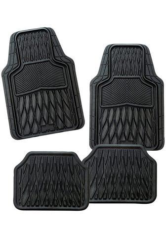 CarFashion Universal-Fußmatten »Set Macao« (4 vie...