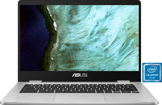 Asus Chromebook C423NA-EC0376 Chromebook (Intel Celeron, HD Graphics 500, 64 GB SSD)