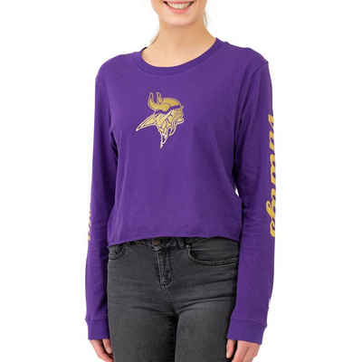 New Era Langarmshirt »NFL Cropped Minnesota Vikings«