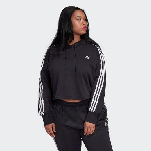 adidas Originals Kapuzenpullover »Cropped Hoodie – Große Größen«