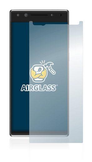 BROTECT Schutzfolie »Panzerglasfolie für Alcatel 5«, Schutzglas Glasfolie klar