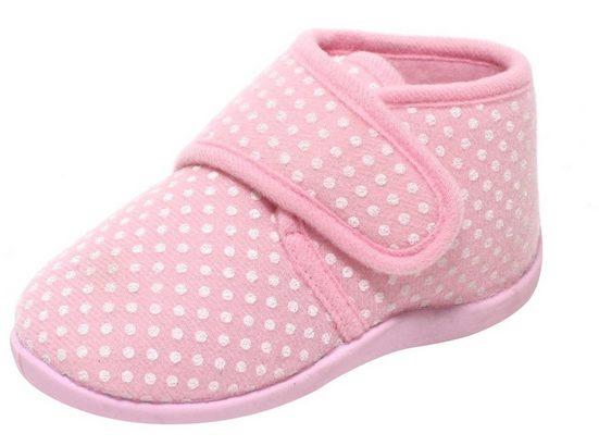 Zapato Hausschuh Mädchen Hausschuhe Kinderschuhe Puschen Slipper Freizeitschuhe Baby Kinder rosa