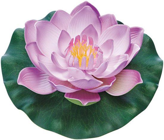 Pontec Seerose »PondoLily«, aus Kunststoff, violett