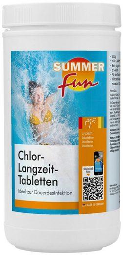 SUMMER FUN Wasserpflege »Chlor-Langzeit-Tabletten«, 1,2 kg