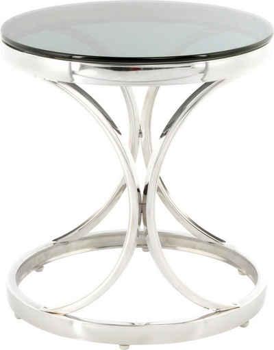 Kayoom Beistelltisch »Beistelltisch Weyda 125«, filigranes Design