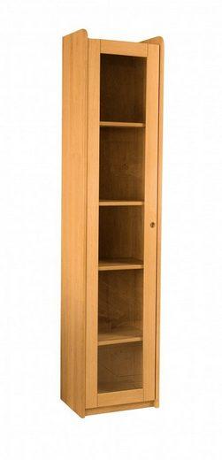 BioKinder - Das gesunde Kinderzimmer Standregal »Lara«, Bücherregal 200 cm mit Klarglastür