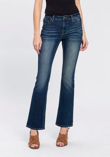 Arizona Bootcut-Jeans »Baby Bootcut« High Waist