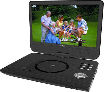Reflexion »DVD1005« Portabler DVD-Player (Auflösung: 1024 x 600, Bildformat 16:9, Monitor klapp- & drehbar, Eingebaute Stereolautsprecher, Kopfhörerausgang, Audio- & Video-Ausgang)
