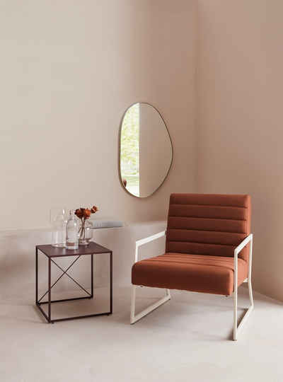 LeGer Home by Lena Gercke Couchtisch »Femke« (Set, 3-St., 3tlg.-Set), 3 verschiedene Größen, Gestell und Tischplatte aus Metall