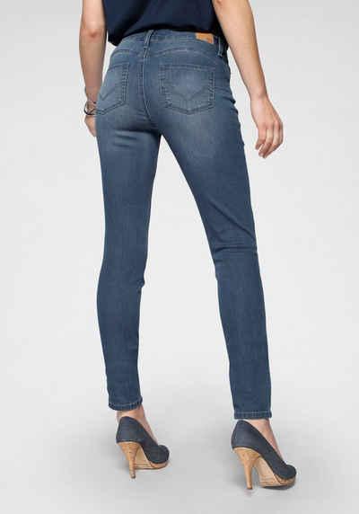 H.I.S Skinny-fit-Jeans »Shaping Regular-Waist mit Push-up Effekt« Nachhaltige, wassersparende Produktion durch OZON WASH