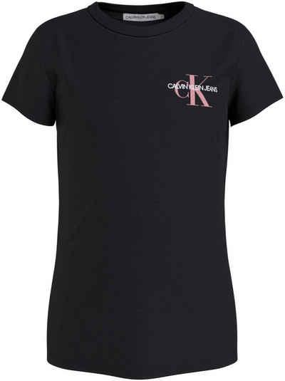 Calvin Klein Jeans T-Shirt »CHEST MONOGRAM TOP« mit Logo Brustdruck