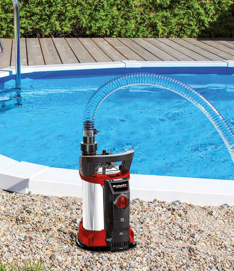 Einhell Klarwasserpumpe »GE-SP 4390 N-A LL ECO«, 9000 l/h max. Fördermenge