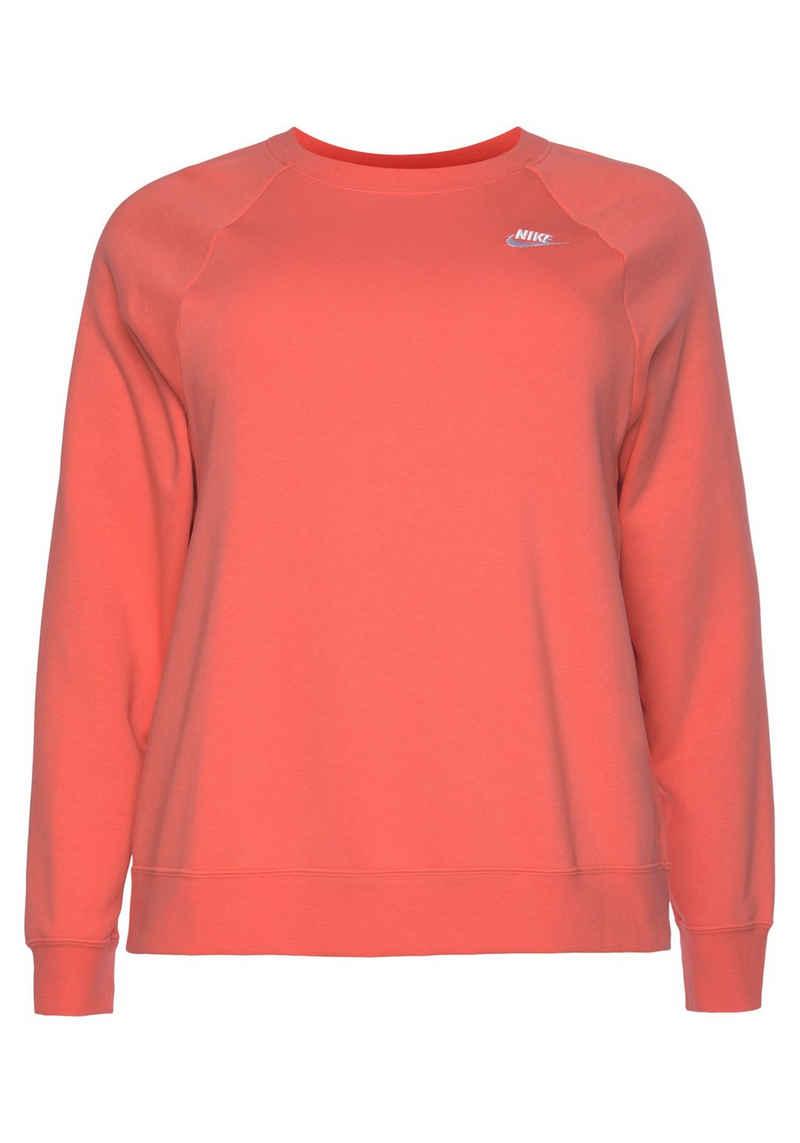 Nike Sportswear Sweatshirt »Essential Crew Fleece Plus Size«