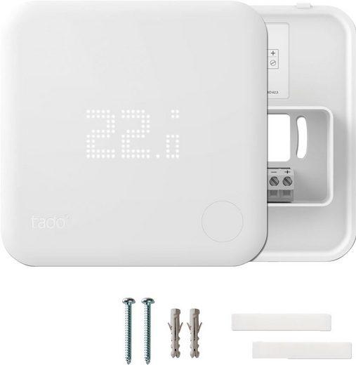 Tado »Funk-Temperatursensor, Zusatzprodukt für Smarte Heizkörper-Thermostate« Smartes Heizkörperthermostat