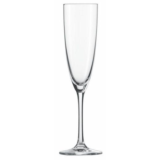 SCHOTT-ZWIESEL Gläser-Set »Classico Sektkelch 7 6er Set«, Glas