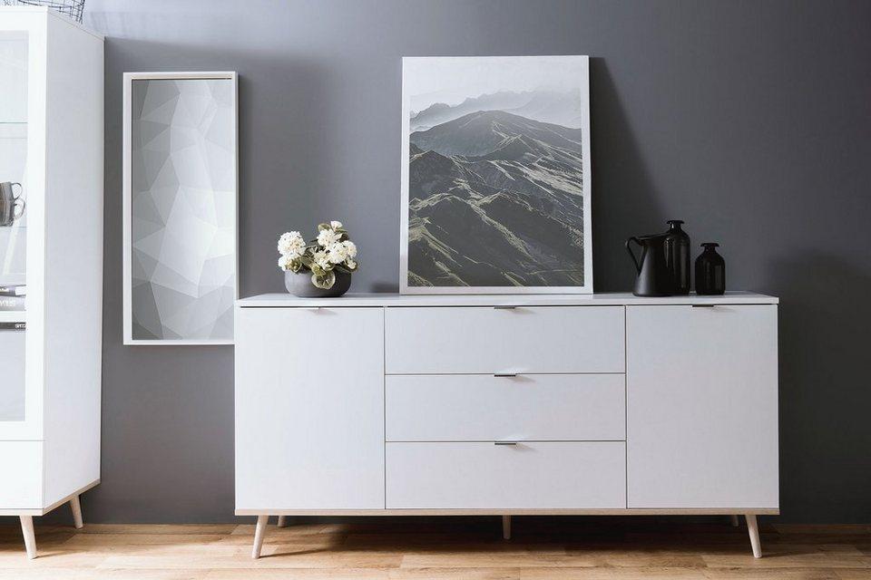 Newroom Sideboard Elia Weiss Kommode Skandinavisch Anrichte Highboard Wohnzimmer Schlafzimmer Online Kaufen Otto