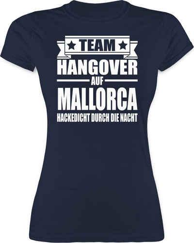 Shirtracer T-Shirt »Team Hangover auf Mallorca - JGA Junggesellenabschied Frauen - Damen Premium T-Shirt« Junggesellinnenabschied Damen