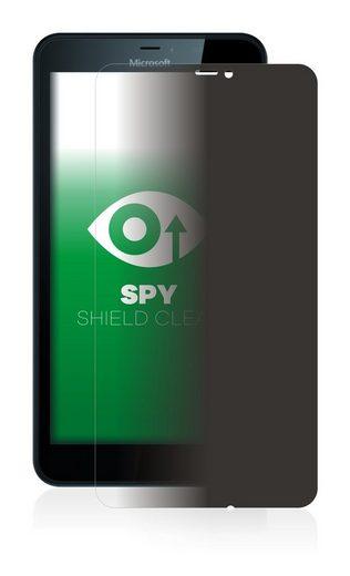upscreen Schutzfolie »für Microsoft Lumia 640 XL«, Folie Schutzfolie Sichtschutz klar anti-spy