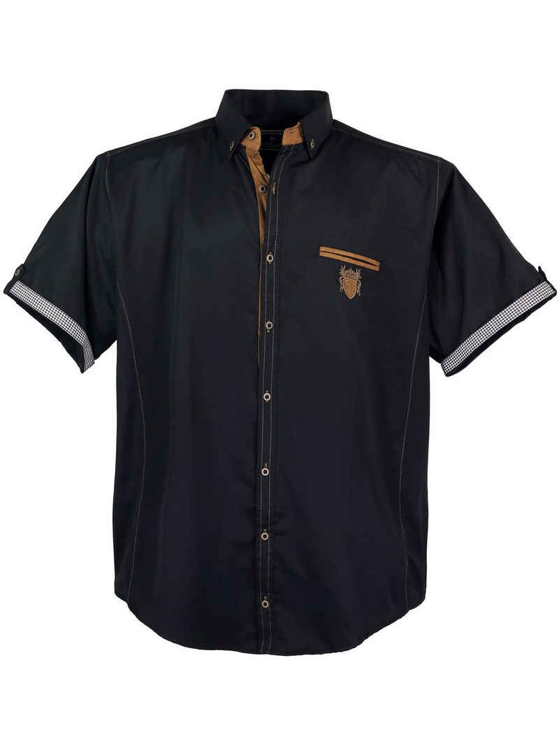 Lavecchia Kurzarmhemd »Übergrößen Herren Hemd 1128« modisches & zeitloses Herrenhemd
